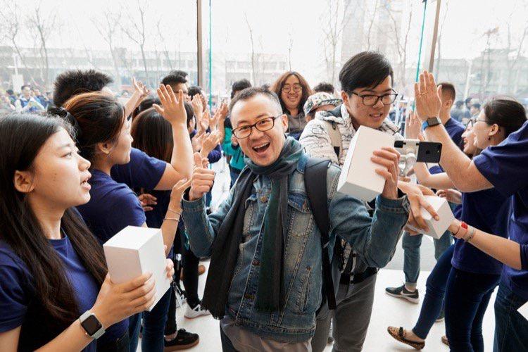 Apple ferait une ristourne aux vendeurs chinois d'iPhone
