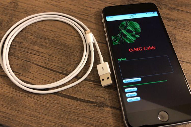 L'O.MG Cable rappelle qu'il ne faut pas brancher n'importe quel périphérique à son Mac