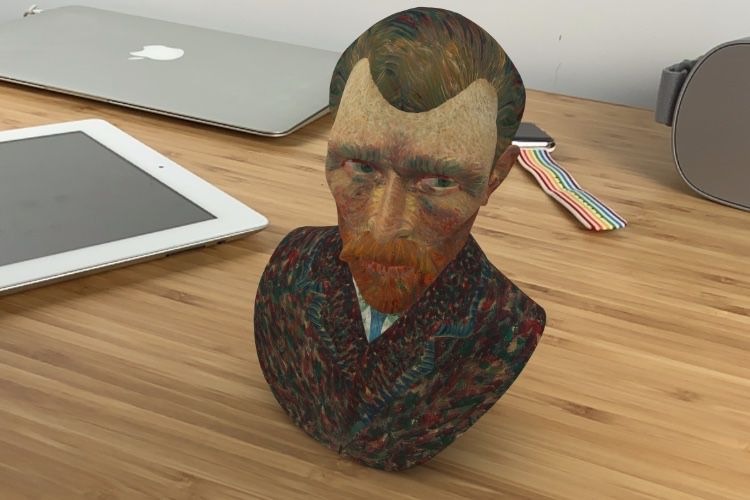 Des dizaines d'objets en 3D à explorer depuis Safari
