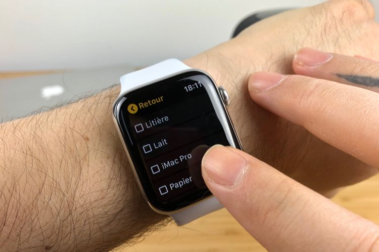 L'app Keep marque le regain d'intérêt de Google pour l'Apple Watch