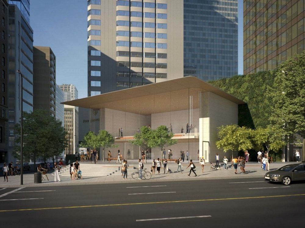 Un gros Apple Store se prépare pour Vancouver