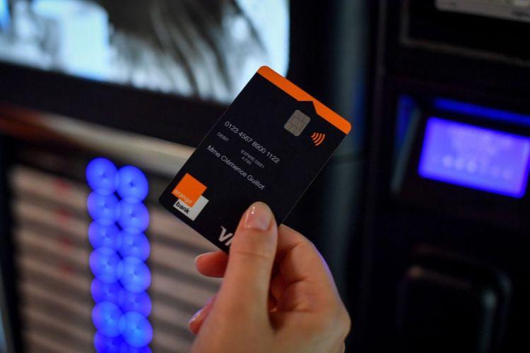 Orange Bank : une carte Visa Premium avec cryptogramme dynamique et Apple Pay