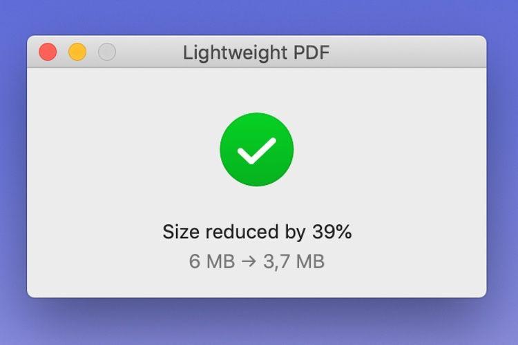 Lightweight PDF : réduisez la taille de vos documents en deux coups de cuillère à pot