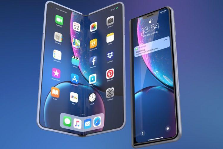 L'iPhone pliable pourrait-il ressembler à ce concept ?