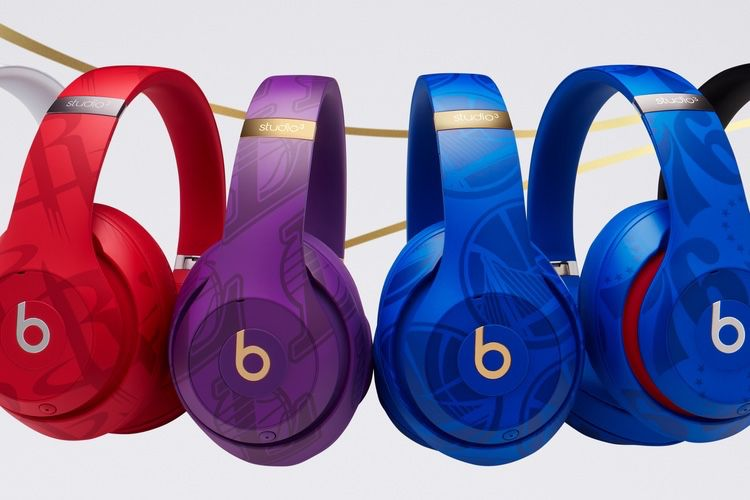 Une collection de casques Beats aux couleurs de la NBA