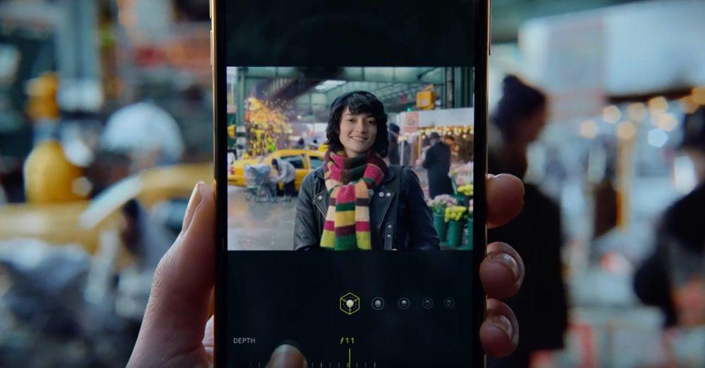 video en galerie : La profondeur de champ des photos, vedette de la dernière pub d'Apple
