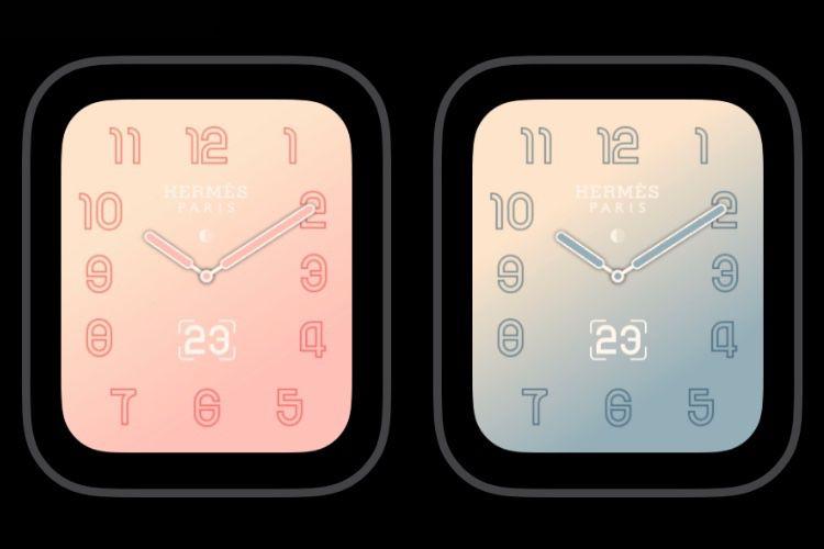 Un nouveau cadran à venir pour l'Apple Watch Hermès