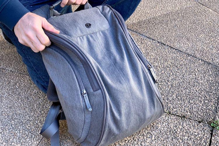 Test du sac à dos Cobra squeeze de Booq