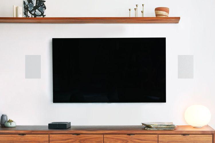 Sonos s'incruste dans les murs, au plafond et à l'extérieur