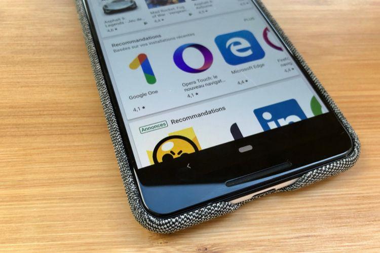 Android Q tente de supprimer le bouton de retour sans copier l'iPhone