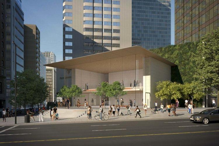 image en galerie : Un gros Apple Store se prépare pour Vancouver