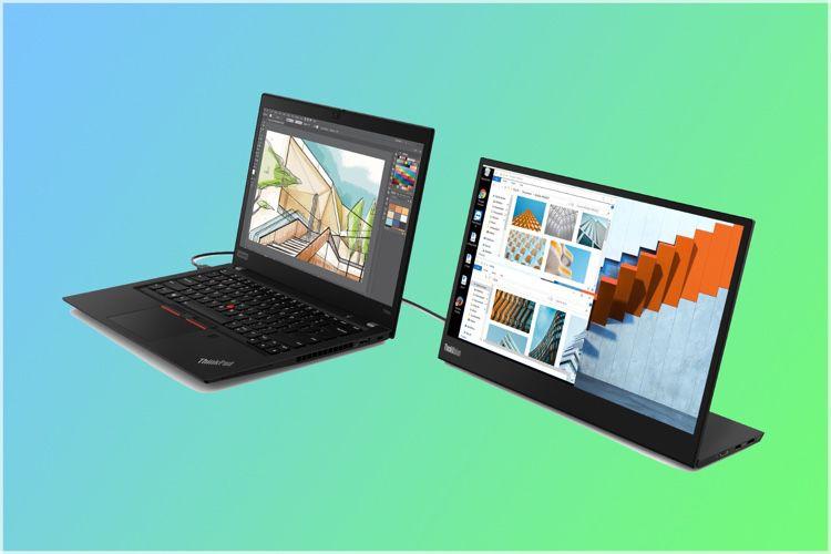 Lenovo présente un écran USB-C pour accompagner un portable