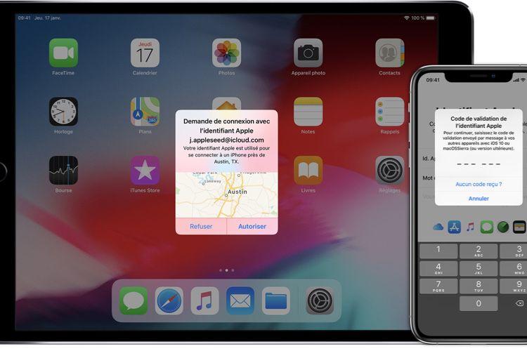 Astuce : activer l'identification en deux facteurs d'un compte développeur sur un appareil iOS