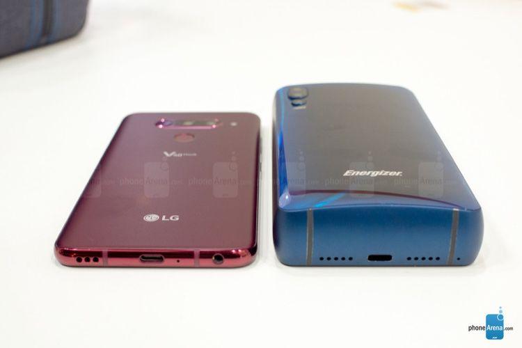 image en galerie : Vous en rêviez ? Energizer l'a fait : un smartphone avec une batterie de 18000mAh !