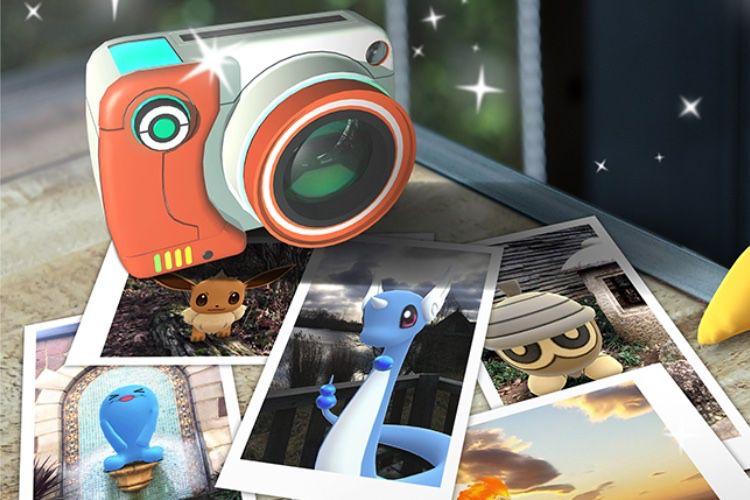 Un atelier photo dans Pokémon GO