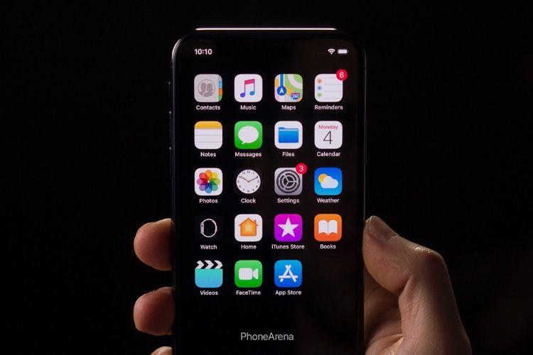 Une tentative de mode sombre dans iOS 13