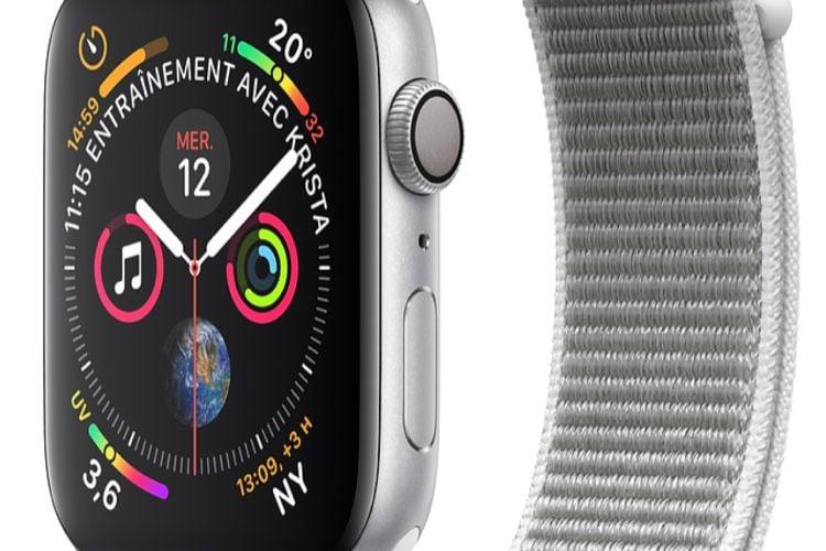 Promotions : de 79€ à 100 € de moins sur des Apple Watch Series4cellulaires