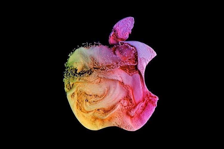 Les logos d'Apple stylisés comme économiseur d'écran pour le Mac