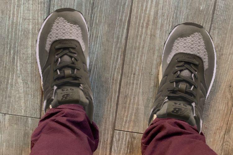 La réalité augmentée, c'est le pied