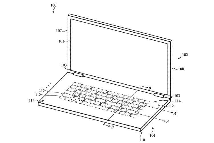 Brevet : un clavier en verre pour les MacBook
