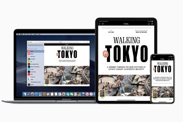 Apple News+ : un kiosque presse sur abonnement (9,99$ par mois)