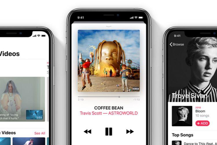 Suisse : la recherche dans les paroles est arrivée dans Apple Music