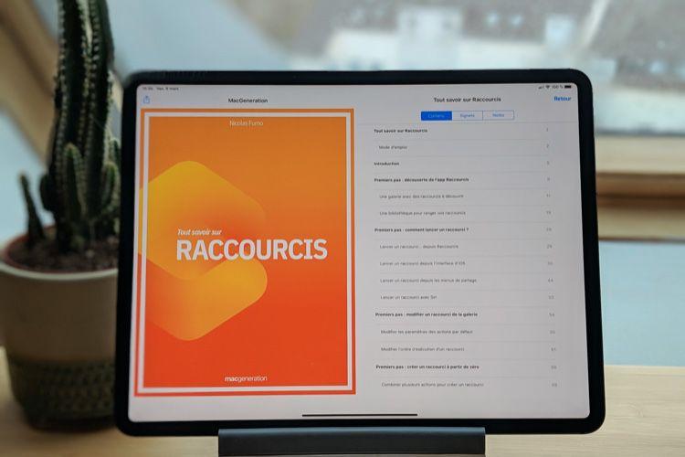 Découvrez notre livre sur Raccourcis pour iOS