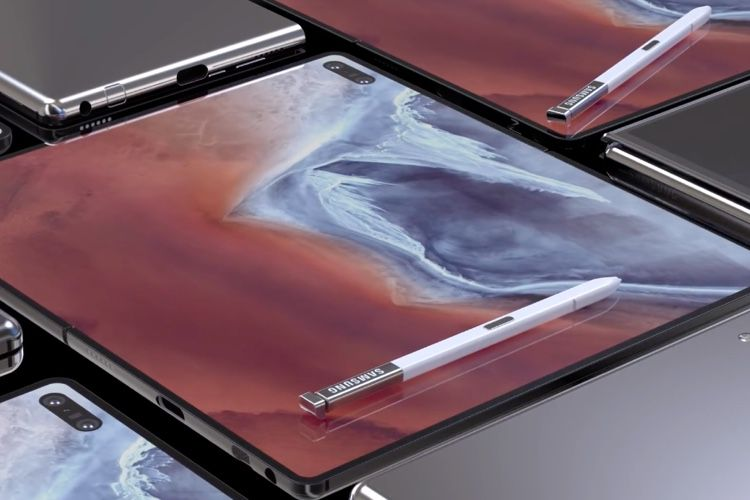 video en galerie : Concept : plus convaincante cette version 2 du Galaxy Fold ?