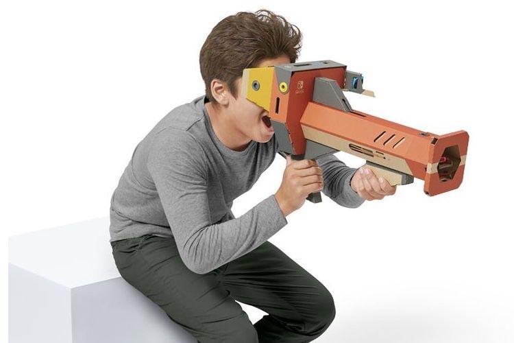 La réalité virtuelle en carton de Nintendo