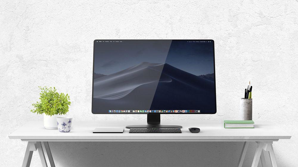 Et pourquoi pas un iMac avec un pied AirPower et un clavier Touch Bar ?