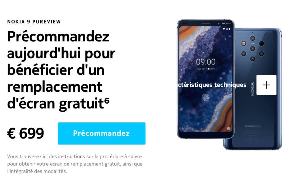 Le nouveau Nokia acheté, un remplacement d