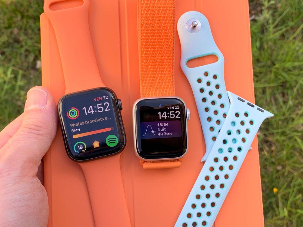 Prise en main des bracelets Apple Watch pour le printemps-été 2019