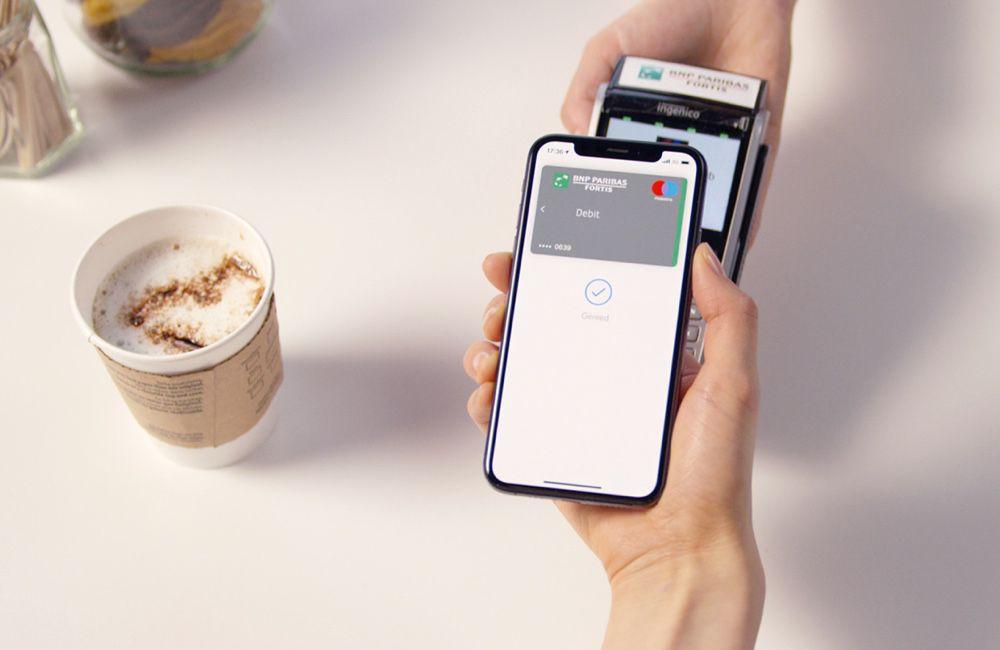 Carte Bancaire Fortis.Belgique Apple Pay Resterait Exclusif A Bnp Paribas Fortis Pendant
