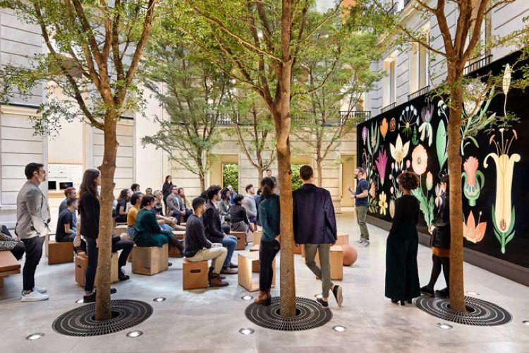 Le keynote du 25 mars en direct à l'Apple Store des Champs-Elysées