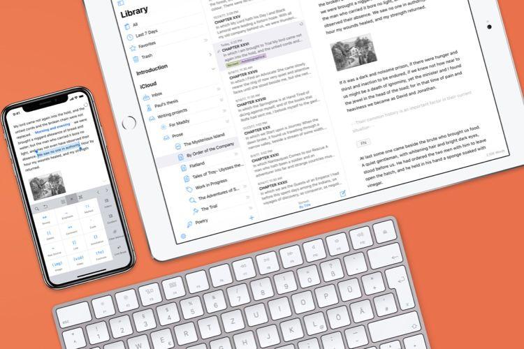 Ulysses va se plier aux nouveautés d'iOS 13 et macOSCatalina