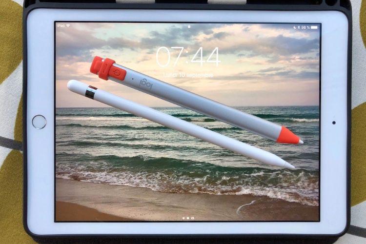 Le Crayon de Logitech probablement compatible iPad Pro avec iOS 12.2