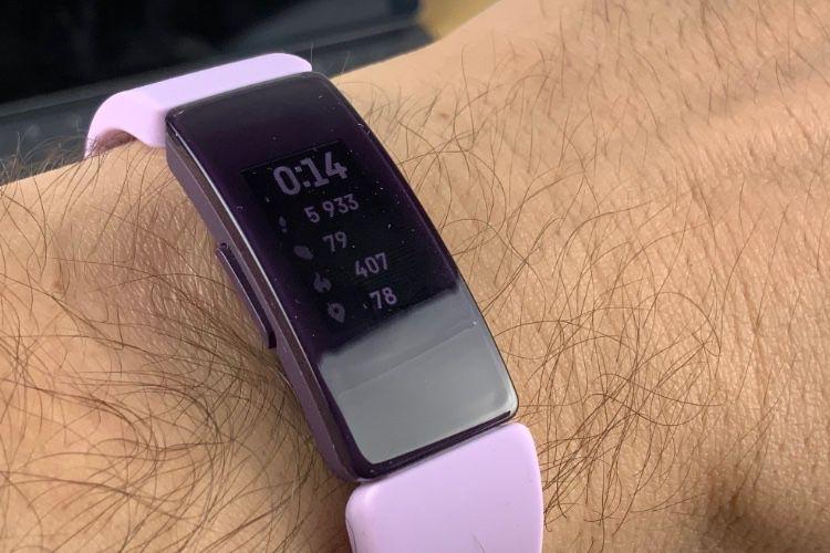 Test de l'Inspire HR de Fitbit