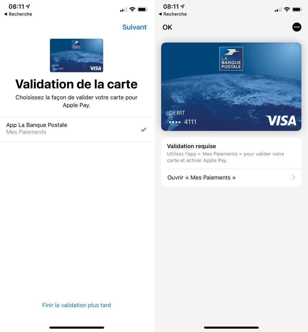 La Banque Postale Active Apple Pay Màj Igeneration