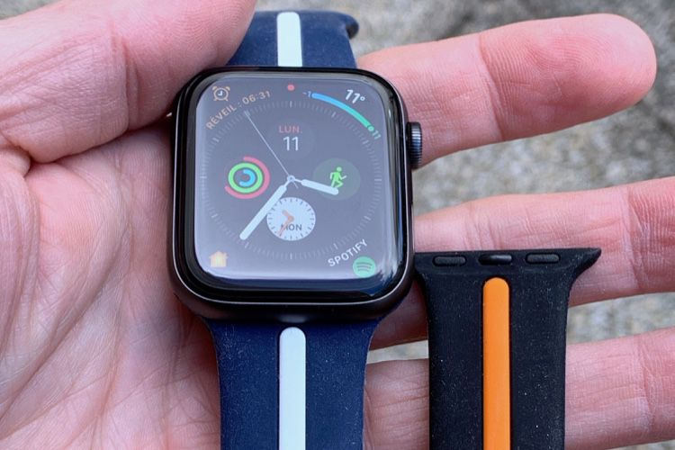 Prise en main de bracelets TOPsic pour Apple Watch