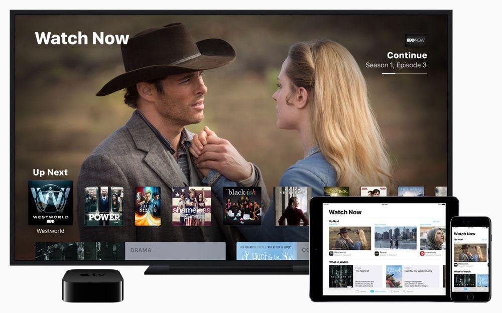 contenu apple tv