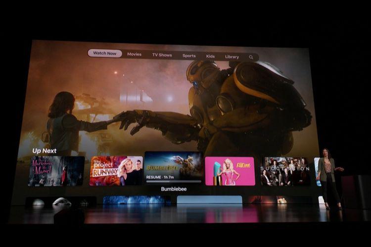L'application Apple TV revue et améliorée pour en mettre plein les yeux