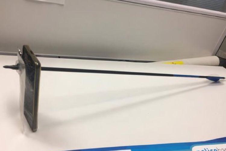 image en galerie : iPhone : un garde du corps efficace contre les flèches