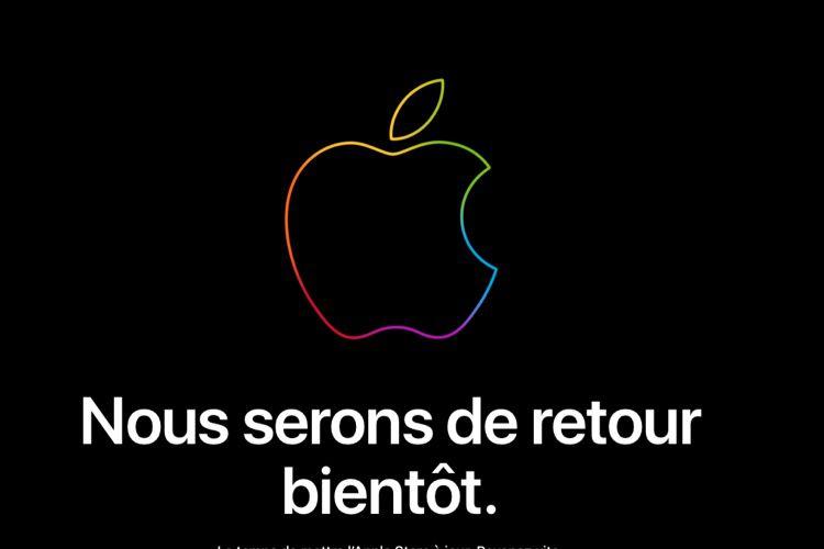 L'Apple Store est fermé!