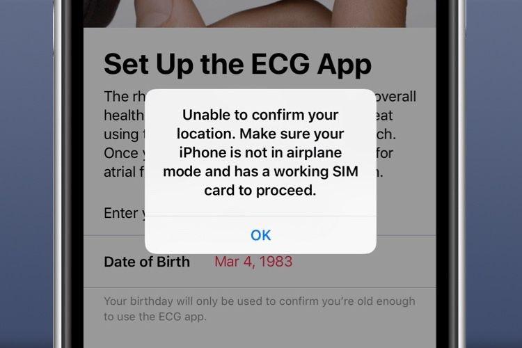 iOS 12.2 : géolocalisation de l'app ECG, AppleCare+ repéré dans les réglages iOS, et autres nouveautés