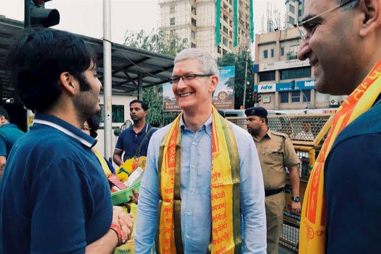 En Inde, Apple voudrait renforcer son image «premium»