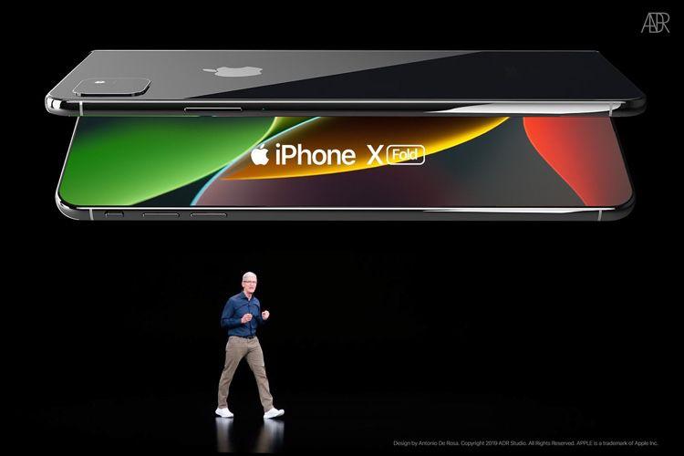 Voici à quoi (ne) ressemblera (pas) l'iPhone pliable