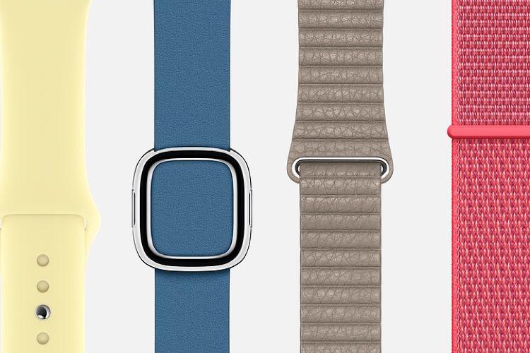 Les bracelets Apple Watch du printemps ne devraient plus trop tarder 🎉