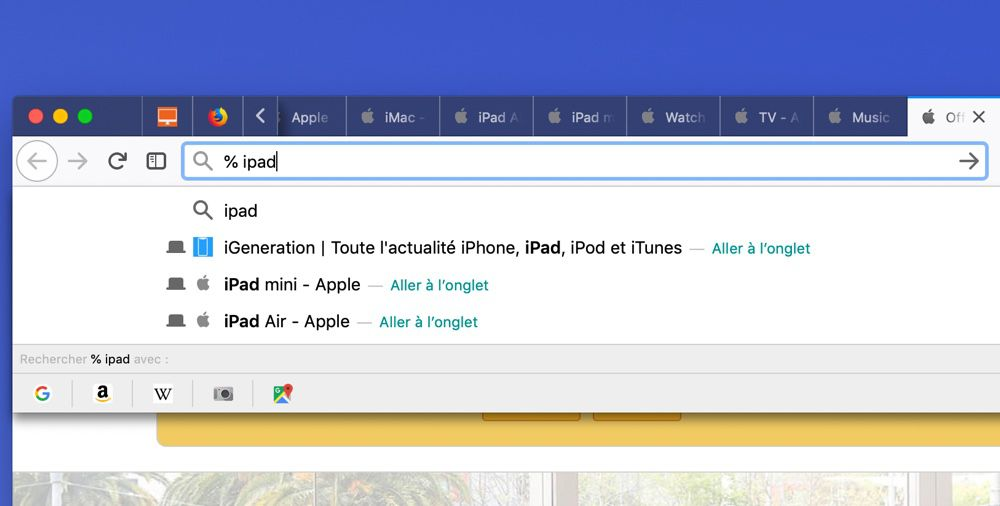 Firefox 66 : Touch Bar, blocage du son et autres améliorations