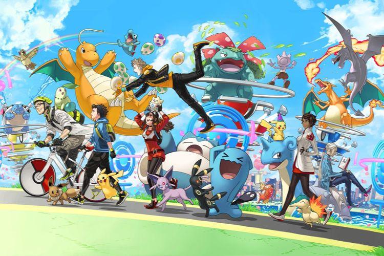 Les Pokémon attrapent le gros lot sur iOS et Android
