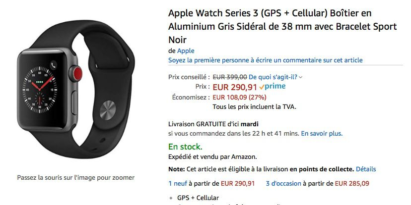 """Especiales: Apple Watch Series 3 Cellular a 290 €, iPad Pro 10.5 """"256GB a 730 €, iPad Pro 12.9"""" 1 TB a 1.790 €"""